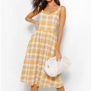 🆕️Sunny checkered summer dress